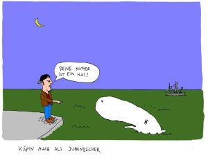 Käptn Ahab bunt...